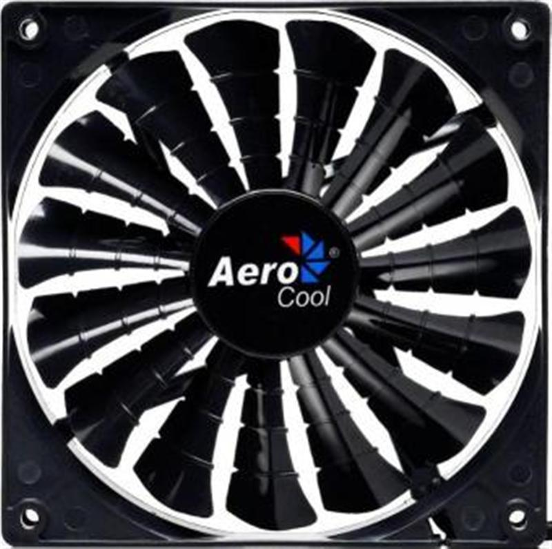 Вентилятор Aerocool Shark Fan Black Retail 120мм