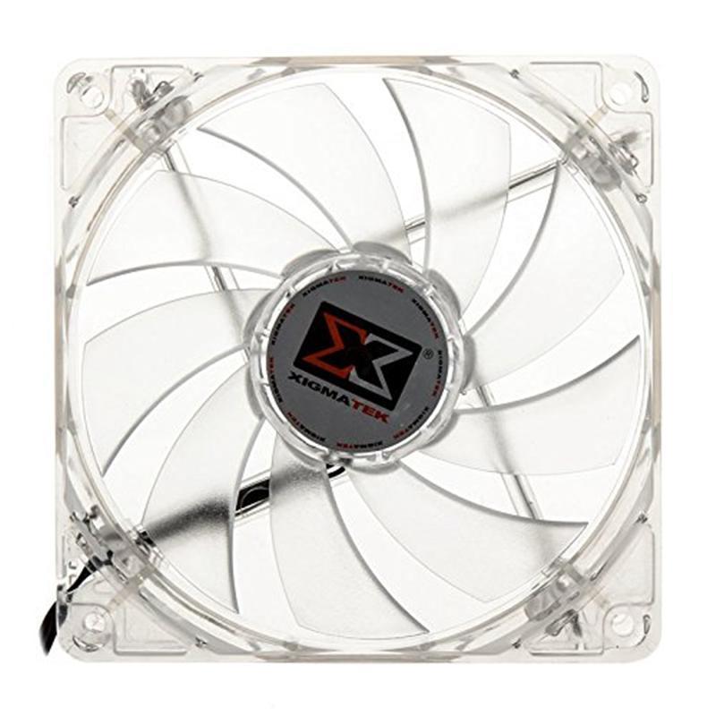 Вентилятор Xigmatek CLF-FR1251 Blue LED (EN6763), 120x120х25 мм, 3+4pin
