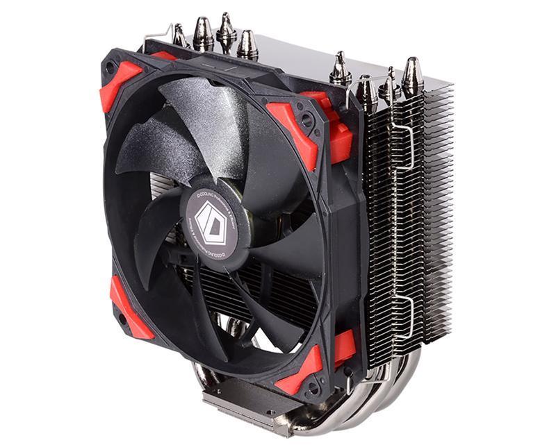 Кулер процессорный ID-Cooling SE-204K, Intel: 2011/1366/1151/1150/1155/1156/775, AMD: FM2+/FM2/FM1/AM3+/AM3/AM2+/AM2, 123х77х157 мм, 4-pin