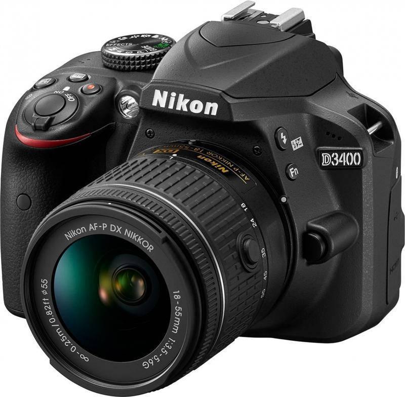 Nikon D3400 + AF-P 18-55 Non-VR KIT (VBA490K002)