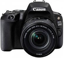 Canon EOS 200D 18-55 KIT DC III Black (2250C014)