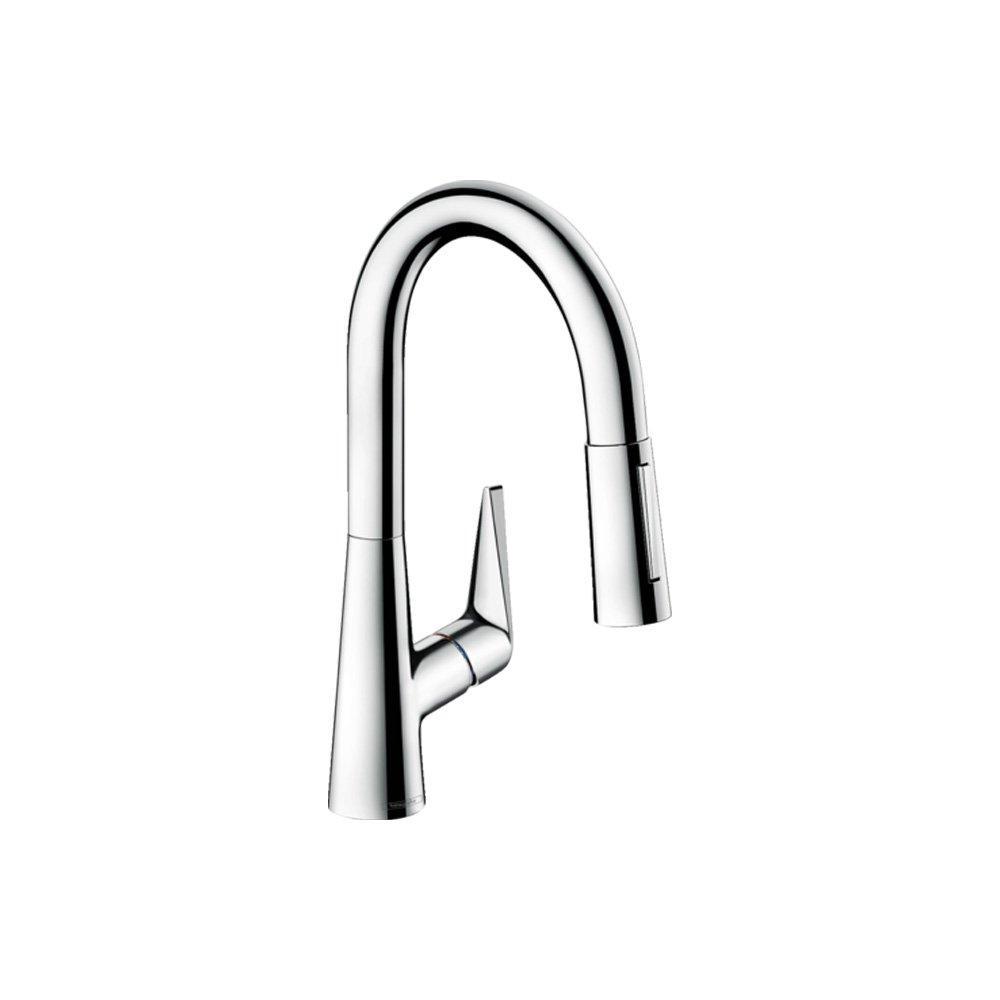 Hansgrohe Смеситель для кухни 160, однорычажный, с выдвижным душем арт.72815000