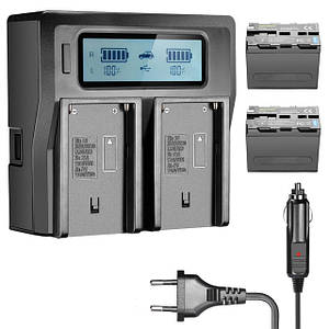 Акумулятори та зарядні пристрої для фото/відеокамер