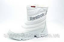 Белые спортивные зимние сапоги в стиле Reebok, фото 2