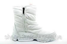 Белые спортивные сапоги в стиле Reebok, Зимние, фото 2