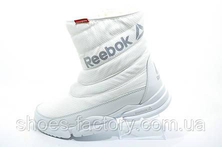 Білі спортивні зимові чоботи в стилі Reebok, фото 2