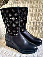 Эксклюзивные итальянские кожаные сапоги Missouri р.31