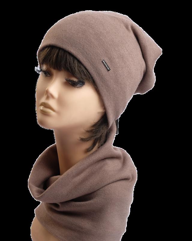 Комплект шапка и шарф Николас