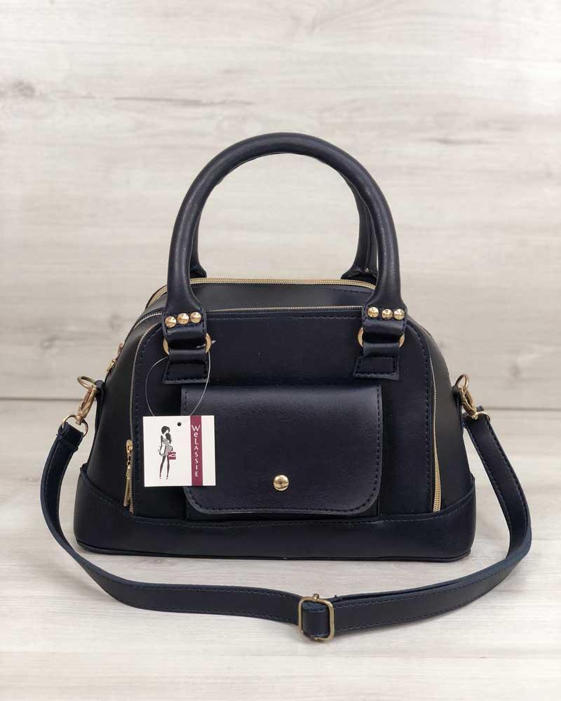b8e9866fb6de Женская сумка Лили синего цвета: продажа, цена в Кропивницком ...