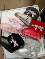 Детски модные угги для девочек Размеры 25-30, фото 1