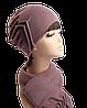 Комплект шапка и шарф Роза