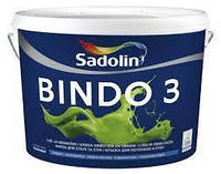 Краска Sadolin BINDO 3 - краска для внутренних работ, белый BW, 5 л.