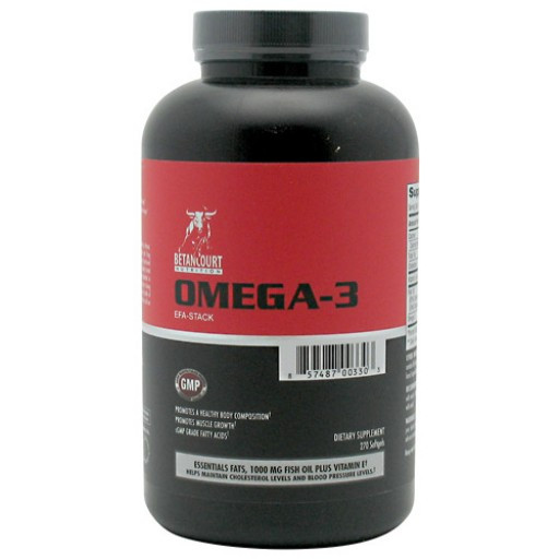 Betancourt Nutrition Omega-3, 270 капс., фото 1