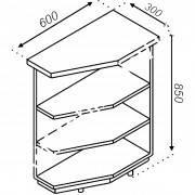 Нижняя угловая секция Тера Н30КЗ