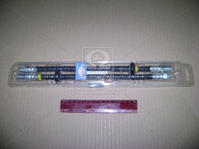Шланг тормозной ВАЗ 2108 передний компл. 2 шт. (пр-во ДААЗ), 21080-350600600