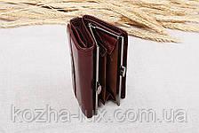 Шикарный женский кожаный кошелек 727С, натуральная кожа, фото 3