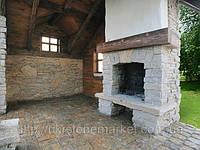Камины из камня - тепло и уют дома.