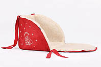 Матрасик для санок Baby Breeze красный 0301-302