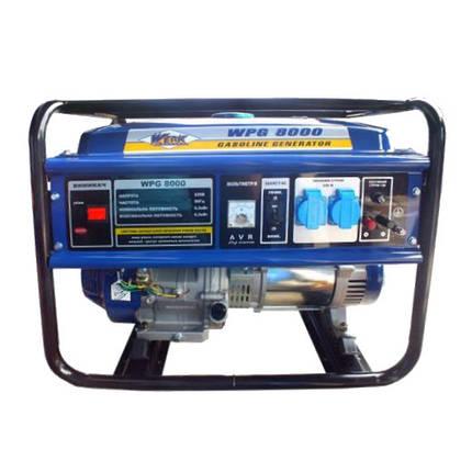 Бензиновый генератор WERK WPG8000, фото 2