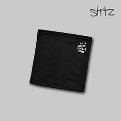 Теплый горловик Anti Social Social Club черного цвета  (люкс копия)