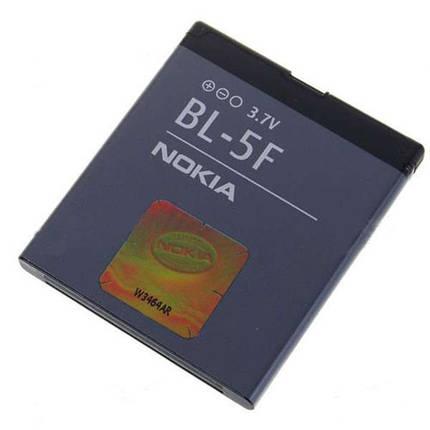 Аккумулятор для nokia bl 5f 6210, 6290, 6710, E65, N95 копия, фото 2