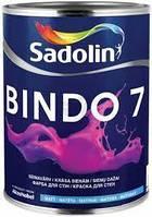Фарба Sadolin BINDO 7 - фарба для стелі і стін, білий BW, 10 л.