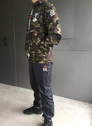 Мужской демисезонный спортивный костюм Reebok Crossfit, фото 2