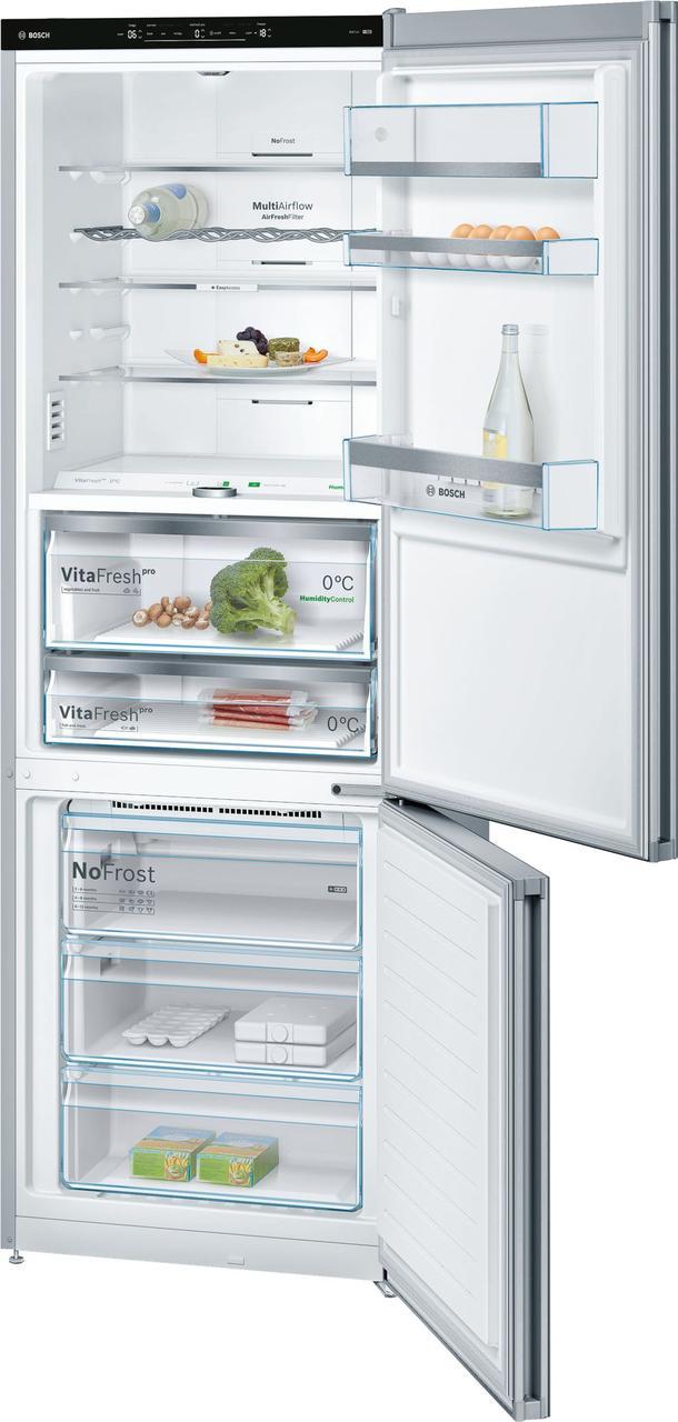 Холодильник окремо стоїть з морозильником Bosch KGF49SM30