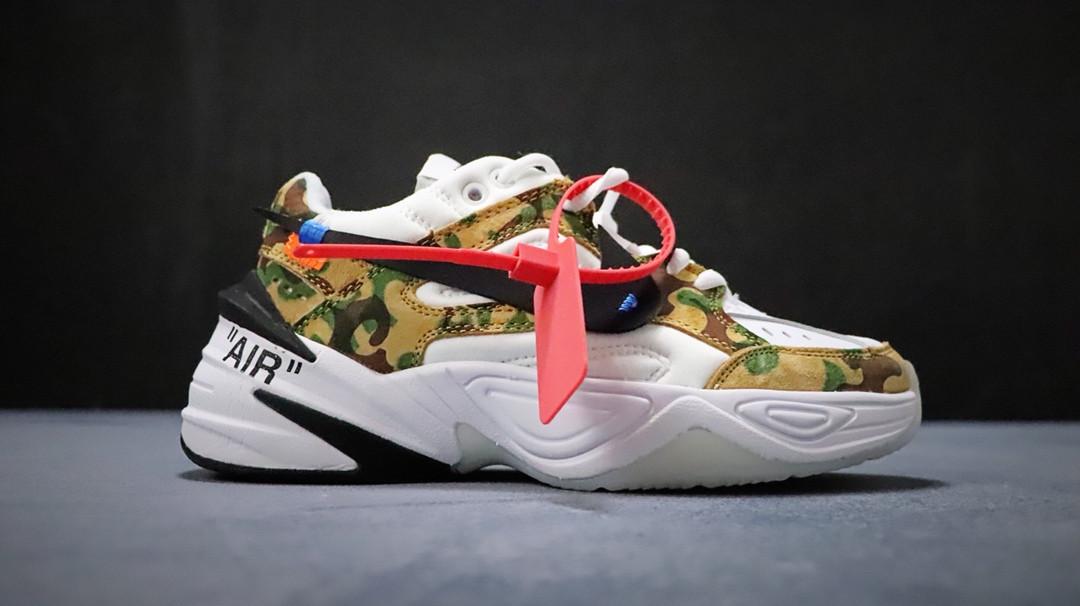 new product 585e3 98e24 Кроссовки Nike M2K Tekno x Off White найк мужские женские реплика