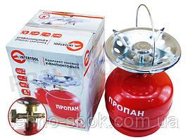 Комплект газовый баллон кемпинговый 5 л. Intertool GS-0005