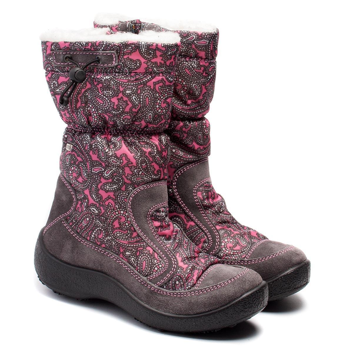 Зимние мембранные сапоги для девочек ТМ Капика (Флоаре), размер 30-36, фото 1