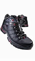 Мужские ботинки зимние МИДА 14665 из натуральной кожи, фото 3