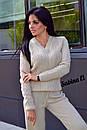 Вязаный спортивный костюм с узором, фото 4