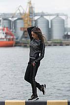 """Трикотажный женский спортивный костюм """"VOGUE"""" с лампасами, фото 2"""