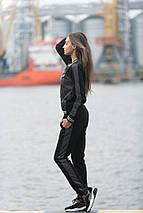 """Трикотажный женский спортивный костюм """"VOGUE"""" с лампасами, фото 3"""