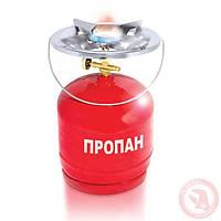 Комплект газовый баллон кемпинговый 8 л. INTERTOOL GS-0008