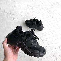 Стильные женские кроссовки N21 Black