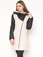 5bb13c28286 Кашемировое пальто демисезонное стеганое женское из кашемира со стежкой