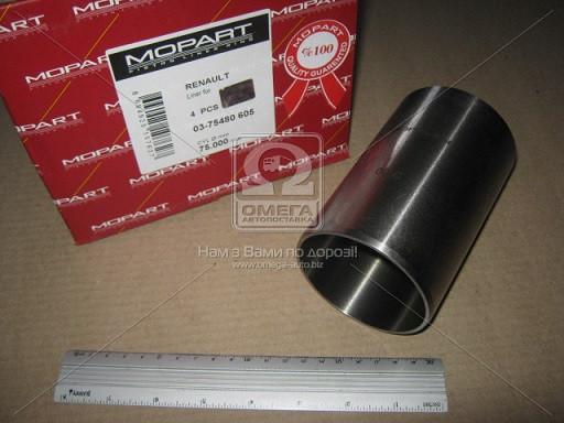 Поршневая гильза RENAULT (РЕНО) 76,00 1,5DCi K9K (пр-во Mopart)