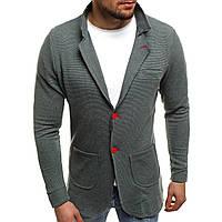 Пиджак мужской (серо-зеленый)
