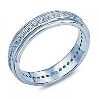 Серебряное кольцо-дорожка с цирконами XJR-0070