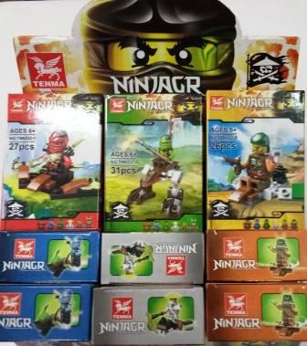 """Конструктор """"Ninjagr"""" 17 деталей, фото 2"""