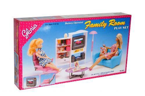 Кукольная мебель Глория Gloria 2014 Фантастическая Семейная гостиная