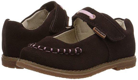 Стильные ортопедические туфли из натуральной замши Pediped (США) (Размер US13-13,5- 19,5 см)