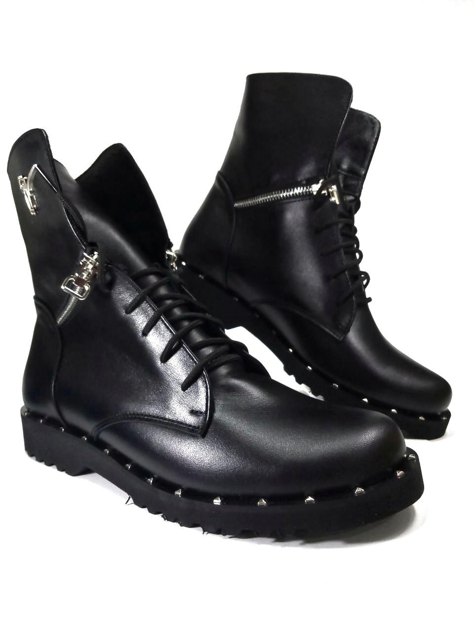 Демисезонные  ботинки из натуральной кожи  LEXI3017