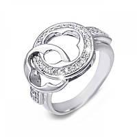 Серебряное декоративное кольцо с цирконием SK-SB049R