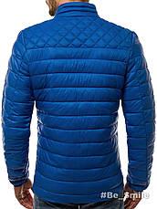 Куртка мужская синяя (весна-осень) , фото 2