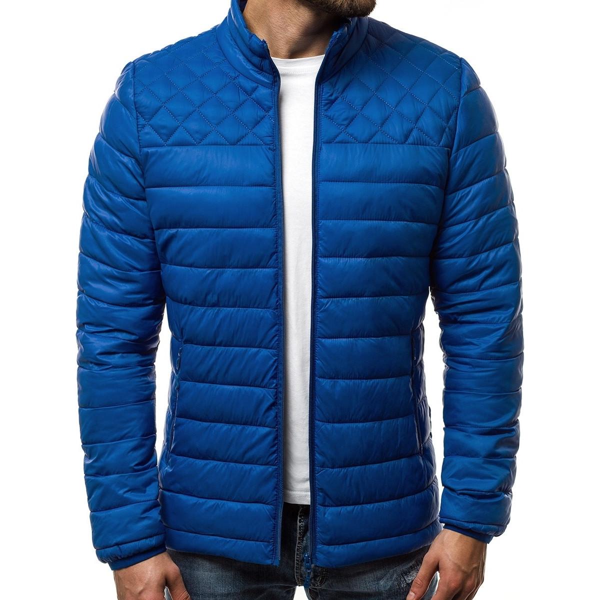 Куртка мужская синяя (весна-осень)