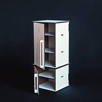 Деревянный игрушечный кухонный инвентарь холодильник TNR10020