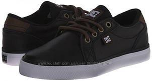 Стильные кожаные кроссовки мокасины DC Council Skate Shoe (Размер US1 -20см) (США)